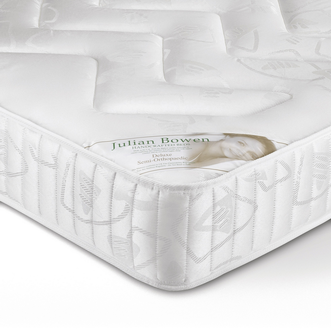 JULIAN BOWEN 4ft6 Double Deluxe Semi Orthopaedic mattress £149